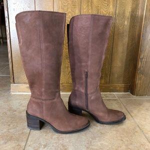 Lucky Brand Wide Calf Boots